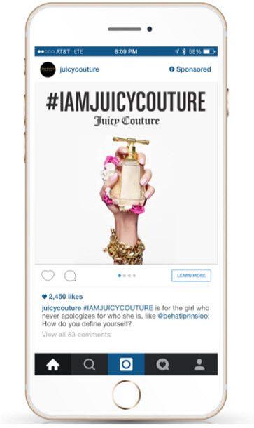 Instagram Feed Ads 363x625